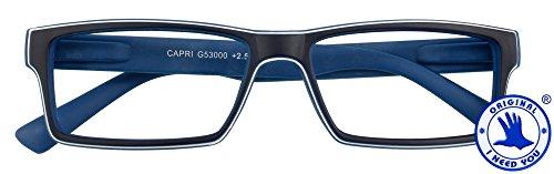 I NEED YOU Lesebrille +3,0 blau Modell