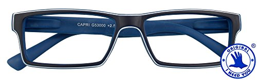 I NEED YOU Lesebrille +1,5 blau Modell