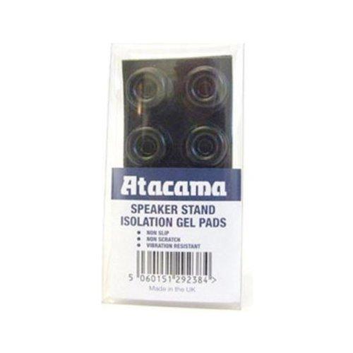 ATACAMA Isolations-Gelpads für Boxenständer, Schwarz, 8 Stück