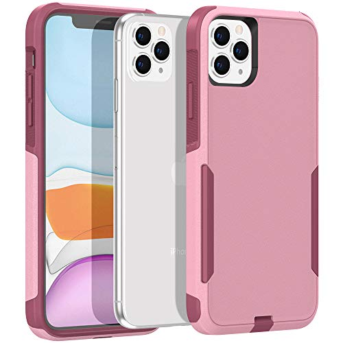 Legfes Phone Case Compatible with iPhone 11 Pro Max – Shockproof Protective Case – Durable and Sturdy Dual Layer Protection Cover Cases – Stylish and Minimalist Design – Anti-Scratch Raised Edges