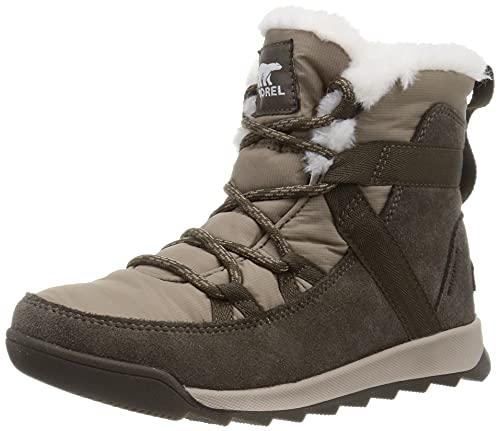 [ソレル] ウィットニーIIフルーリー WP NL3819 ブーツ レディース 24.5cm Major, Omega Taupe
