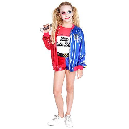 Disfraz Joker's Baby nia Infantil para Carnaval 7-9 Pantaln Corto (23511)