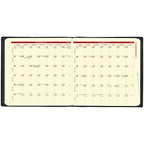 クオバディス2021年版12月始エグゼクティブノートマドラスブラックqv90608bk