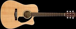 Fender CD-60SCE Dreadnought Acoustic Guitar - Natural