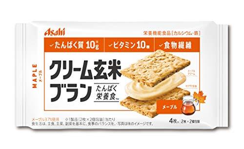 アサヒグループ食品 クリーム玄米ブラン メープル 1セット(36個) 栄養調整食品
