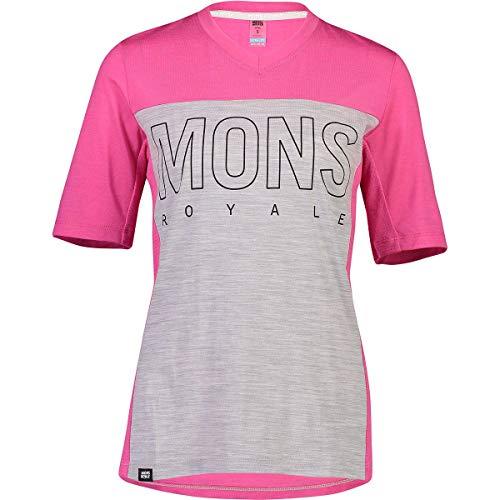 Mons Royale T-shirt Phoenix Enduro pour femme, Punk Baby, XS