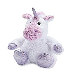 Fully microwavable - no removable heat pack Heats in under 2 minutes, stays warm for up to 2 hours Filled with natural wheat grains & scented with French lavender Standard size Cozy plush toy; approx size 26cm (sitting) Encourages more restful sleep ...