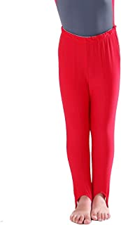New Dance Boy's and Men's Stirrup Pants Ballet Hold Full Length Stretchy Gymnastics Leggings NT1712103