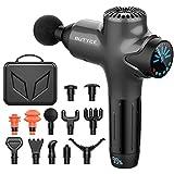 Massage Gun Deep Tissue Massager, Percussion Massage Gun for Athletes, Super Quiet Portable Electric Sport Massager of Y8 Pro Max