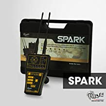 MWF Spark Long Range Metal Detector - Professional Deep Seeking Detector - Underground Depth Scanner and Treasure Finder - Discover Gold, Silver, Coins, Jewelry, and Other Treasures