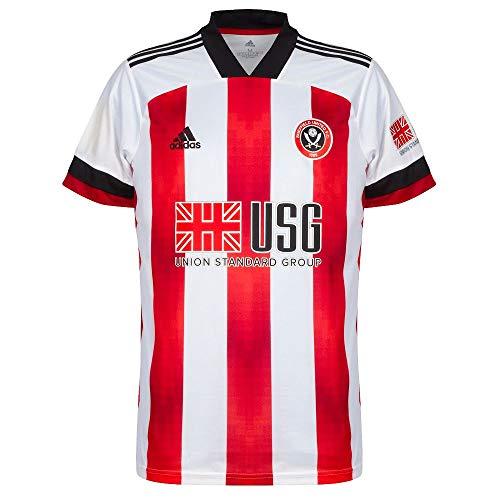 Adidas 2020-2021 - Maglia da calcio Sheffield United Home