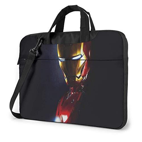15.6 Inch Laptop Bag Iron Man Cute Laptop Briefcase Shoulder Messenger Bag Case Sleeve