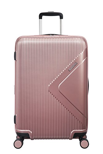 American Tourister Modern Dream - Spinner M Expandible Maleta, 68.5 cm, 81 L, Rosa (Rose Gold)