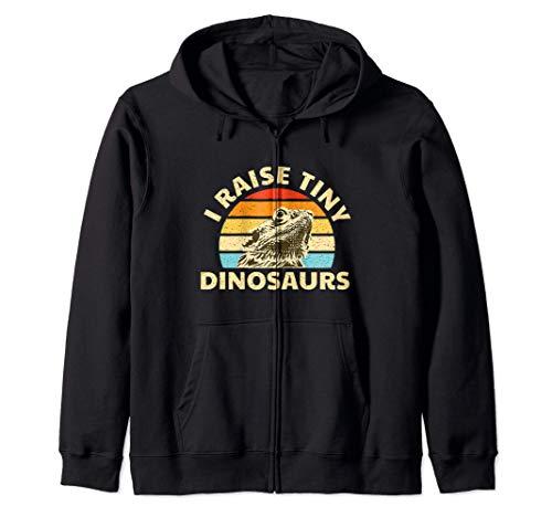 Dragón barbudo criar pequeños dinosaurios lagarto y reptil r Sudadera con Capucha
