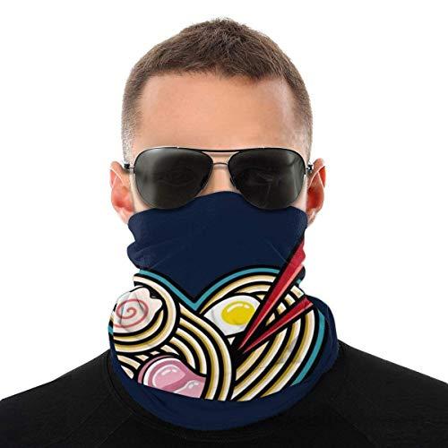 Nother Amor Ramen Variedad de la Cabeza Bufanda de la Cara Máscara de la Cabeza de la Polaina del Cuello de la Cara Bandana Bufanda de pelo bufanda