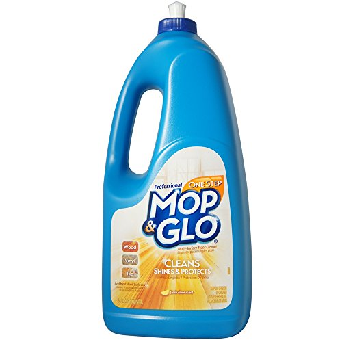 Mop & Glo Professional Multi-Surface Floor Cleaner, 64 fl oz Bottle, Triple Action Shine Cleaner