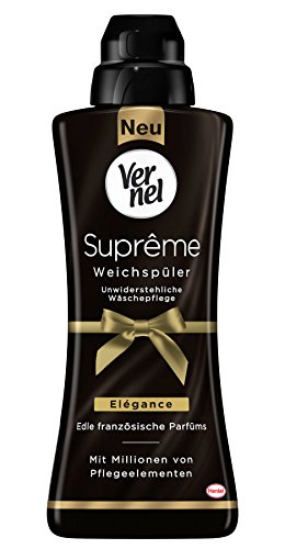 Vernel Suprême Elégance Weichspüler, 336 (14 x 24) Waschladungen, für einen langanhaltenden Duft