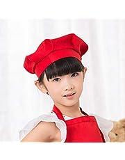 weilifang Cap Cap Chef Pastel de Adultos niños del Cocinero de la Seta de Trabajo Chef Cocinar Sombrero del Casquillo del Sombrero del Cocinero