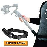 Kamerar MogoCrane Belt Kit, Weight Support for Single Handed Gimbal Stabilizer, DJI Ronin-S, Zhiyun Crane 2, Crane Plus, Moza Air 2, AirCross, Hold The Gimbal Easier and Longer