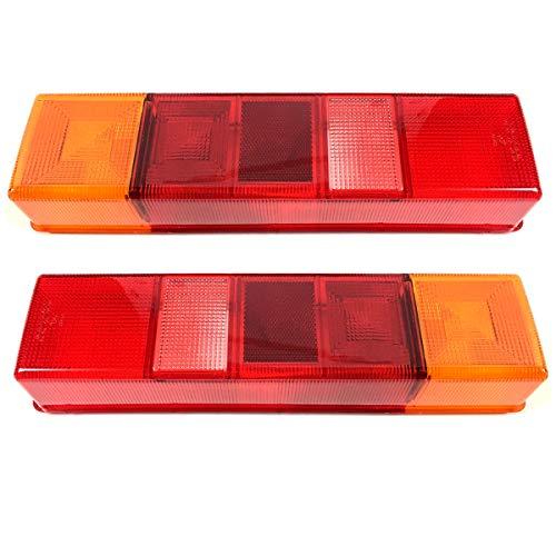 2x Lichtscheibe Heckleuchte Links/Rechts Glas Rückleuchtenglas Rückleuchten