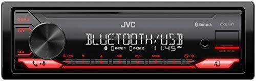 JVC KD-X270BT Digital Media Receiver Featuring Bluetooth, ...