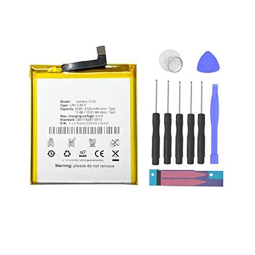 Pattaya BQ 3120 Bateria Compatible con BQ Aquaris M5 Kit de Recambios
