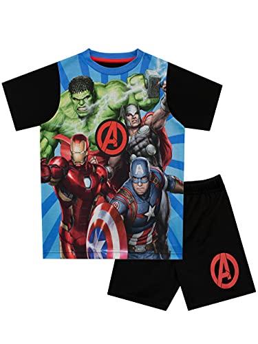 Marvel Avengers Pijamas de Manga Corta...