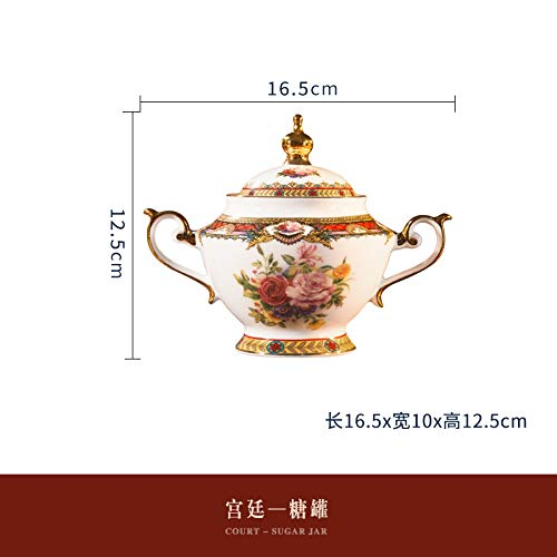 Fabricado en China, porcelana de alta calidad, porcelana china de hueso: alta blancura, color brillante esmaltado. Seguro, saludable y no tóxico. El producto es de una sola vez, de alta densidad, duradero, base gruesa, estable; el diseño del borde es...