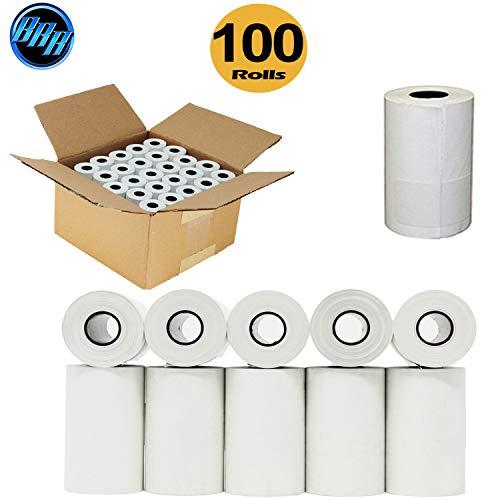 (100) 2 1/4 x 50 Thermal Paper Rolls 100 Rolls Clover Flex Mini Verifone VX520 VX670 VX680 VX690, Clover Flex, VX520, Ingenico iCT220 iCT250 FD400 Bpa Free - BuyRegisterRolls