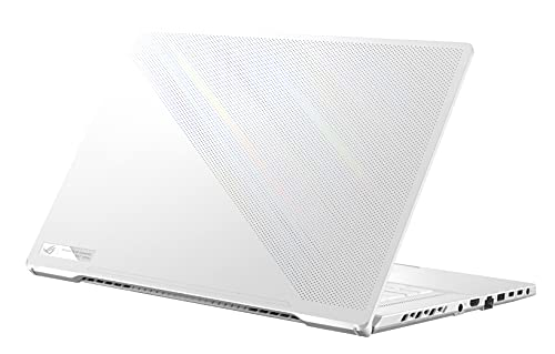 ASUS ROG Zephyrus G15 (2021) Ryzen 7 Octa Core 5800HS - (16 GB/1 TB SSD/Windows 10 Home//NVIDIA GeForce RTX 3060/165 Hz/6 GB ) GA503QM-HQ146TS (15.6 inches, Moonlight White, 1.90 kg, with MS Office)