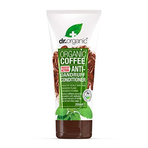 Dr Organic - Acondicionador Anticaspa Cafeína
