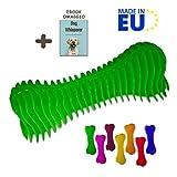 FarmTech Giochi per Cani Piccoli e Medi - Osso Massaggia Gengive per Alitosi Cane e Pulizia Denti - Made in EU (1 Osso)