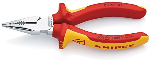 KNIPEX Alicate universal en punta aislado 1000V (145 mm) 08 26 145 SB (cartulina autoservicio/blíster)