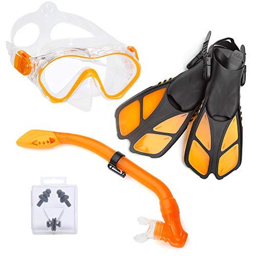 ELEMENTEX Dry Kids Snorkel Set