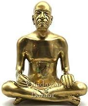 VRINDAVANBAZAAR.COM Bhaktivedanta Swami Prabhupada Brass Statue -Height 3 inch