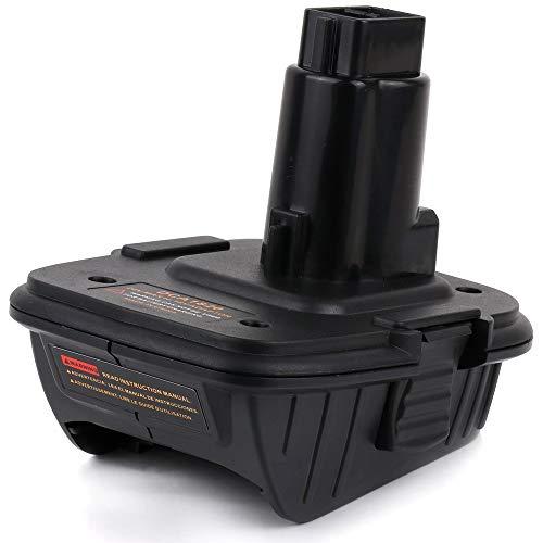 XITAI DCA1820 18V - 20 lithium batterij converteren naar nikkel boormachine en oplader gereedschap adapter voor Dewalt batterijen (zwart) MEHRWEG