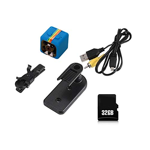 SQ11 Mini Camera Car DVR Full HD 1080P Camcorder Infrared Video Recorder with 32G Memory Card Dash Cam Sports DV Camera
