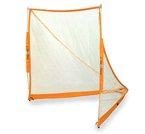 Bownet Lacrosse Goal Net [6'X6' LACROSSE GOAL] Official Game Size, Foldable, Carrying Case Included, Authentic (USA Brand)