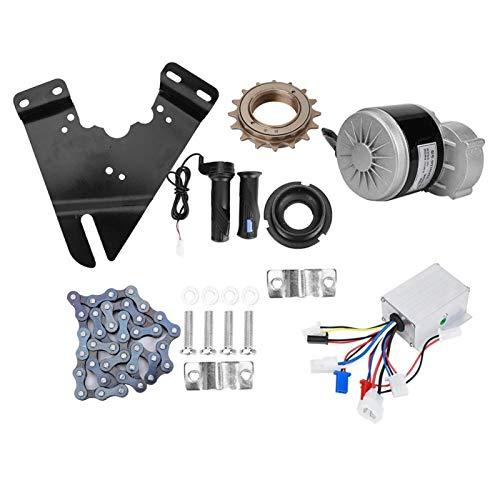 Kit Completo de Motor eléctrico, Kit de conversión de Bicicleta eléctrica de 24 V 250 W para Accesorios de actualización de Bicicleta eléctrica
