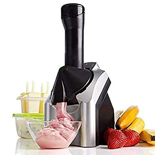 BakaKa Máquina para Hacer Helados Sorbetes de Hielo Máquina para Hacer Yogurt congelado Postre Fruta Máquina para Hacer Helados Suaves para Uso en Fiestas en casa