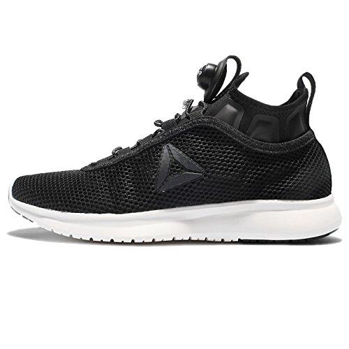 Reebok Pump Plus Lauf-Schuhe ultraleichte Sport-Schuhe Running-Schuhe Freizeit-Schuhe für Damen mit Pump-Technologie Schwarz, Größe:37