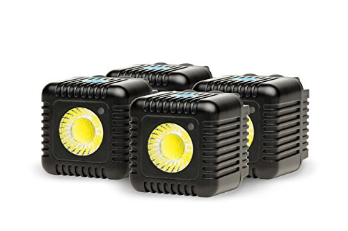 Lume Cube Action Camera Licht, 4-pack zwart