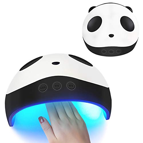 Lampada UV per unghie Panda con LED UV 36W Ricaricabile a ricarica automatica per unghie