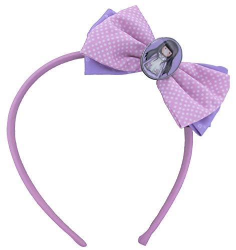 GORJUSS SANTORO – Accessoire pour cheveux avec nœud et charme.