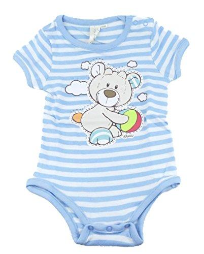 TVM Europe GmbH NICI Body à manches courtes 100 % coton pour bébé garçon - Multicolore - Taille Unique
