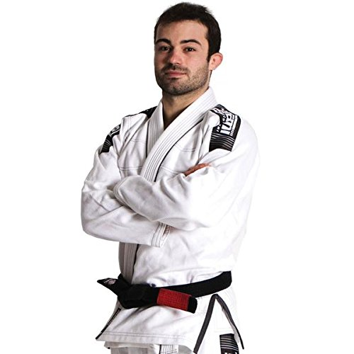 Tatami BJJ GI White Nova Hombre BJJ GI–Kimono Jiu-Jitsu Traje adulto, incluye cinturón blanco, Weiß