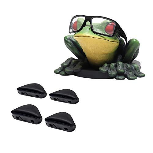 Acefrog Almohadillas de goma de repuesto para gafas de sol Oakley de doble filo.
