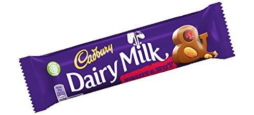 Cadbury Fruit Nut Chocolate Bar 12 England Year-end annual account Same day shipping 49g Pack