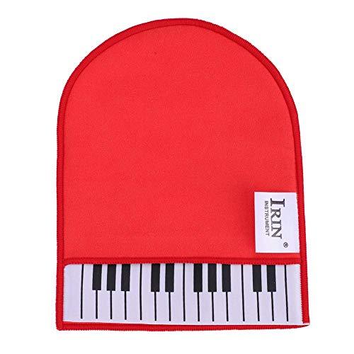 Tbest Klavier Reinigungstuch Piano Cleaner Klavier Tasten Reiniger Klavierhandschuhe, Klavierreinigungstuch Mikrofaser Weiche Reinigungstuchhandschuh Poliertuch Reinigen für Klavier Gitarre Violine