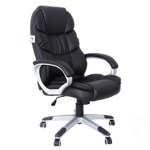 SONGMICS Office Executive Swivel Chair with 76 cm High Back Large...